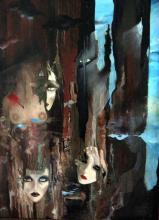 Fantasmes - Huile sur toile (60*80)