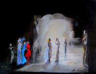 La cave - Huile/toile (19*24)