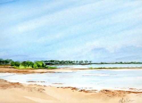 Le Lac à Lachanau (Hourtin) Vendu