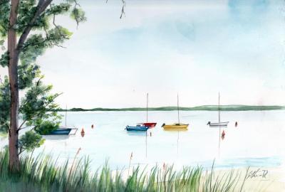 Les bateaux a Piqueyrot