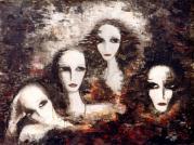 Portraits - Huile sur toile (60*80)