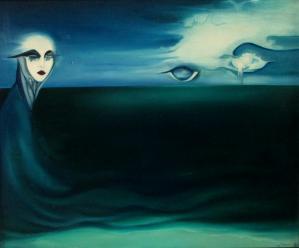 Marée noire - Huile sur toile (66*53)