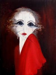Portrait lacéré - H/T (61*45)