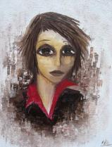 Portrait - Huile sur toile - (61*46)